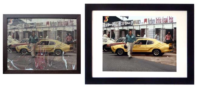 Car frame 650