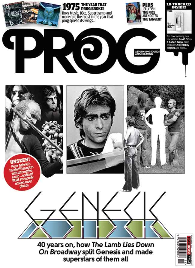 Prog Rock Magazine Outer Sleeve June 2015
