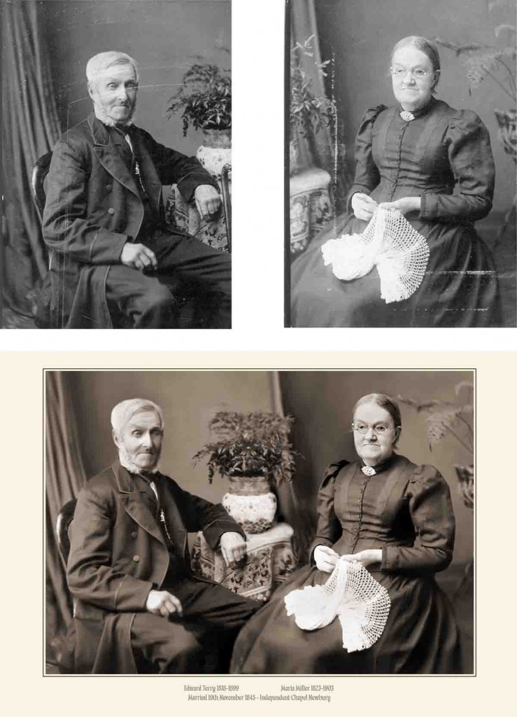 Photograph Restoration/Montage