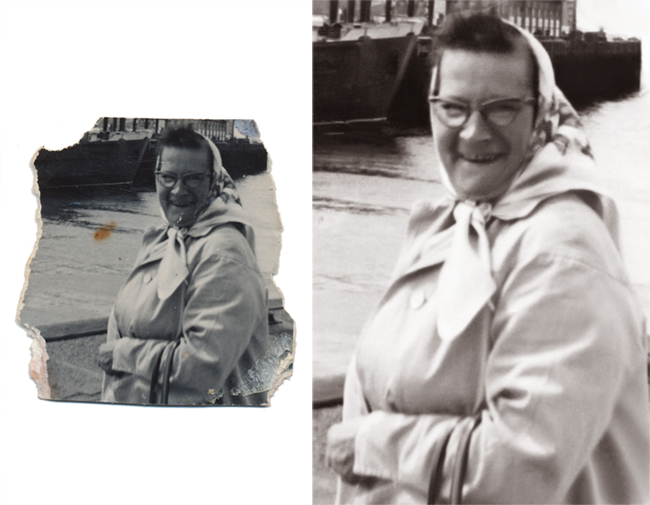 Photographs Forever photograph restoration