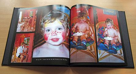 29cm x 29cm, 100 page  photobook