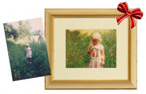 photo restoration framing